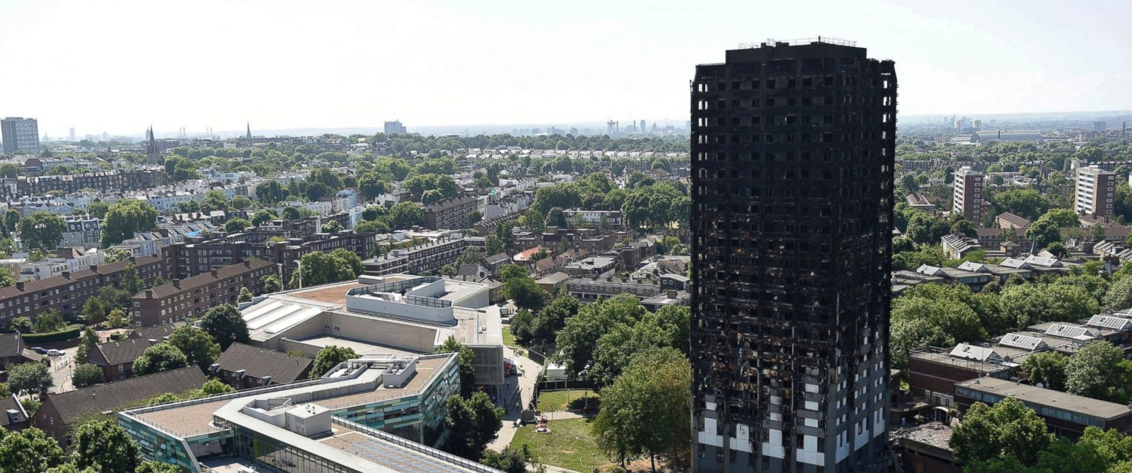 Image result for Grenfell Tower: 79 presumed dead in London fire