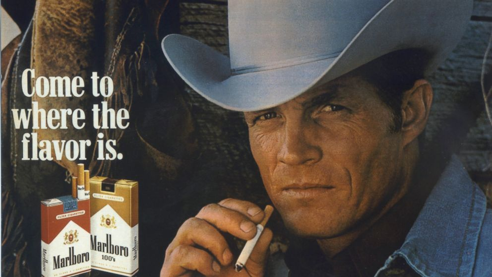 PHOTO: Lawson, who portrayed the rugged Marlboro man in cigarette ads during the late 1970s, has died.