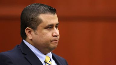 George Zimmerman sits in the courtroom during his trial in Seminole Circuit Court, in Sanford, Fla.,  July 8, 2013.
