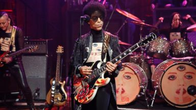 "PHOTO: In this file photo, Prince is pictured on ""Late Night with Jimmy Fallon"" on Mar. 1, 2013 in New York City."