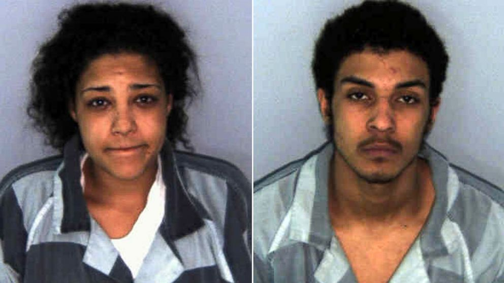 PHOTO: From left, Mersadies Shelton, 20, and her 18-year-old brother, Daniel Mathis.