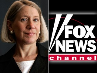 White House Communications Director Anita Dunn, shown in this file photo, left, told CNNs Reliable Sources on Sunday that Fox News operates almost as either the research arm or the communications arm of the Republican Party.