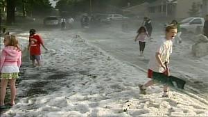 Freak Hail Storm Hits Phoenix Video - ABC News