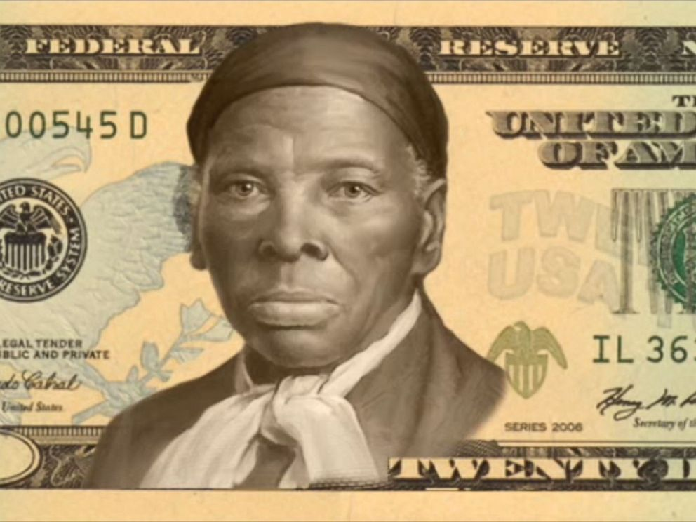 PHOTO: Harriet Tubman is one of the final four candidates that you can vote for in the Women on 20s campaign.