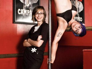 Photo: Classmates Punked at High School Reunion: Andrea Wachner Asked a Pole Dancer to Impersonate Her at the 10-Year Reunion