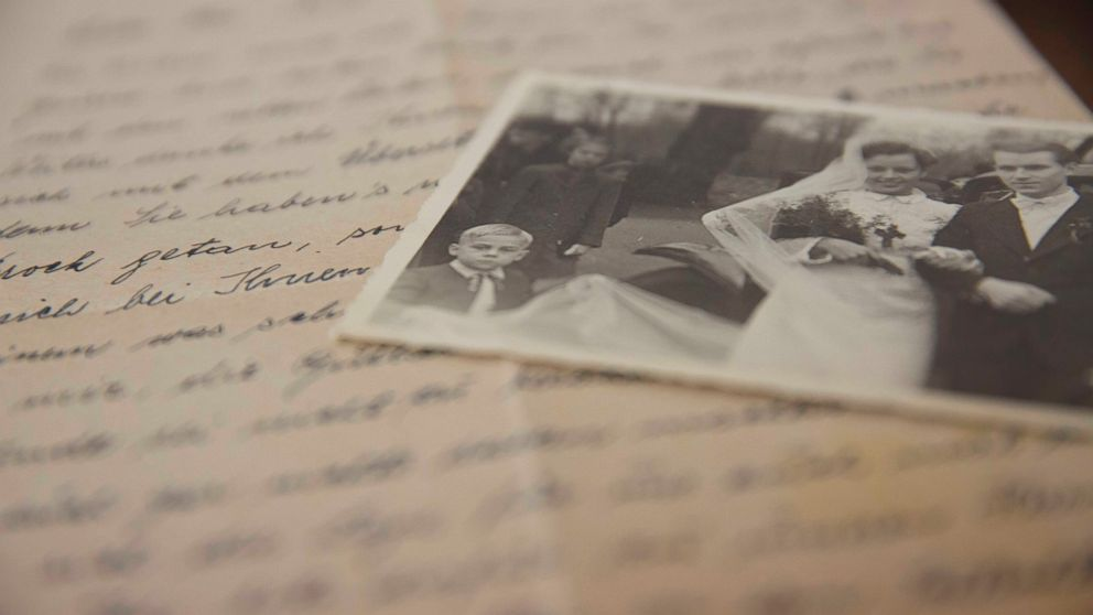 Photo of German POW Letters