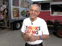 PHOTO: Jim McIngvale, better known as Mattress Mack, shares details of the free Thanksgiving dinner he is hosting in Houston.