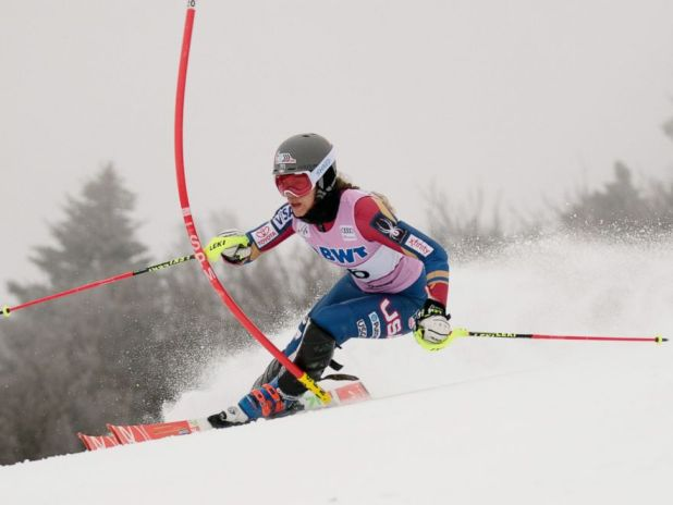 PHOTO: Resi Stiegler will compete for Team USA in her fourth Olympics at the 2018 Winter Olympics in South Korea.