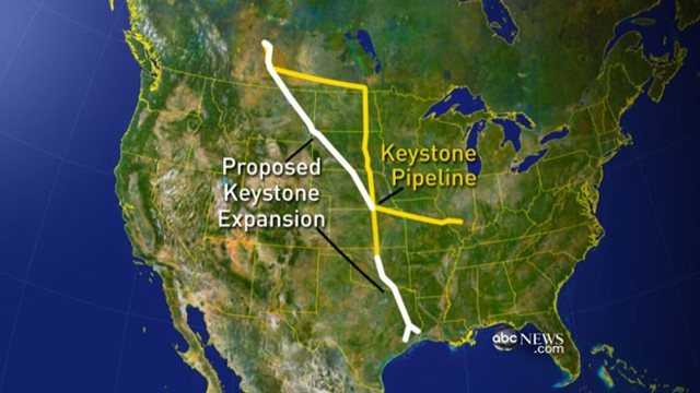 VIDEO: President drops Bush administration proposal for oil pipeline from Canada.