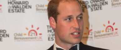 PHOTO: Prince William makes a speech as he attends the charitys 21st Birthday Dinner to honor its work helping families to rebuild their lives after the devastation of child bereavement on Oct. 15, 2015 in London.