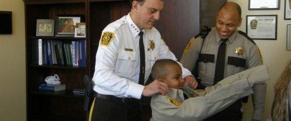 Terminally Ill Boy Granted Final Wish to Be Sheriff for a ...