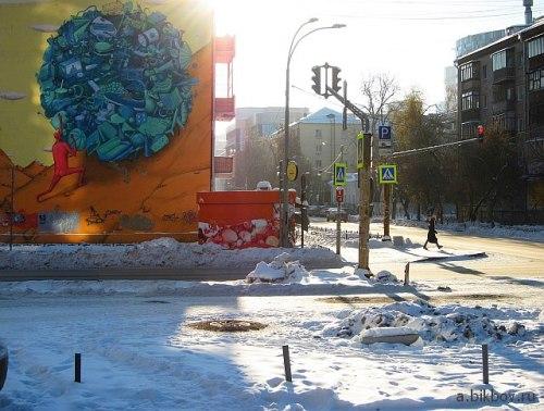 Екатеринбург, одна из улиц городского центра