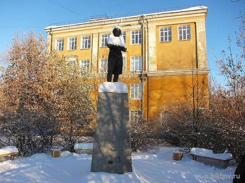 Екатеринбург: памятник Пушкину