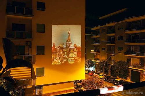 Red Square (Moscow) in the streets of Rome