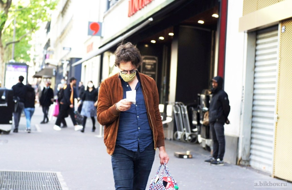 Going social during the outbreak in Paris: ways to go shopping