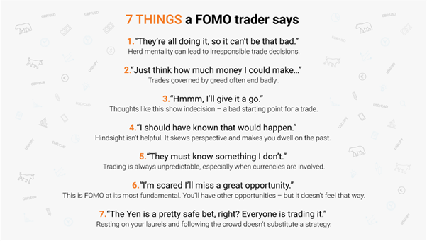 Things a FOMO trader might say