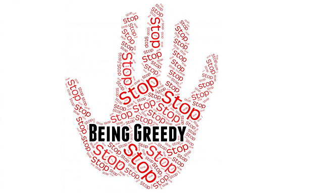 how to control greed when trading