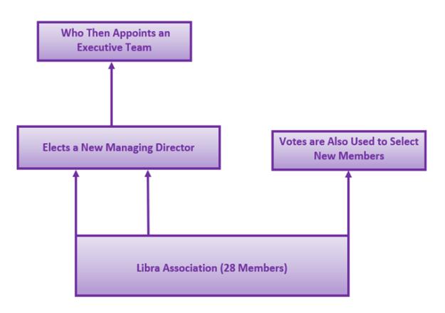 Chart Shoing How Libra Association Works