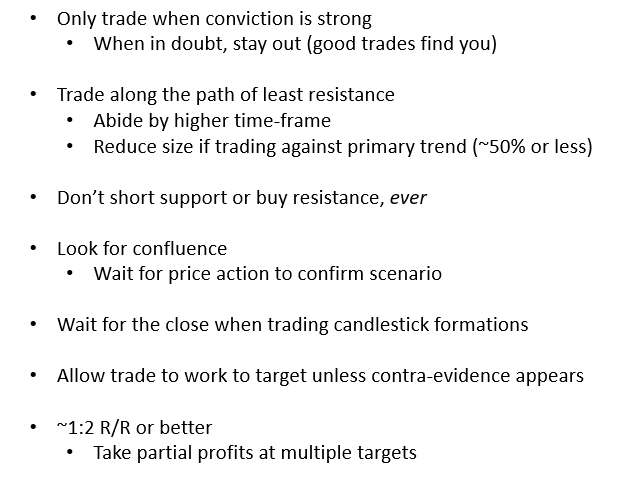 Becoming a Better Trader – Identifying High Quality Trade Set-ups