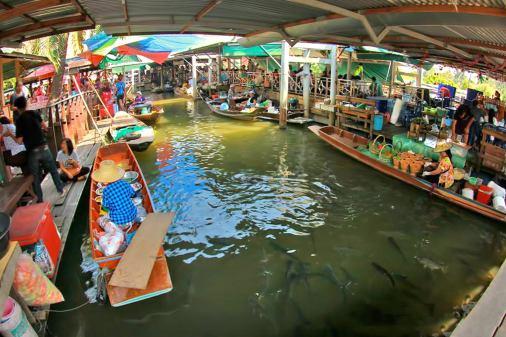 Image result for Taling Chan Floating Market
