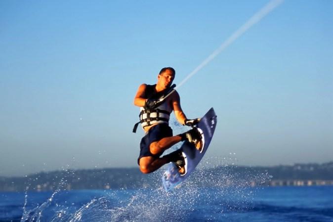 Wakeboarding activity in Qatar