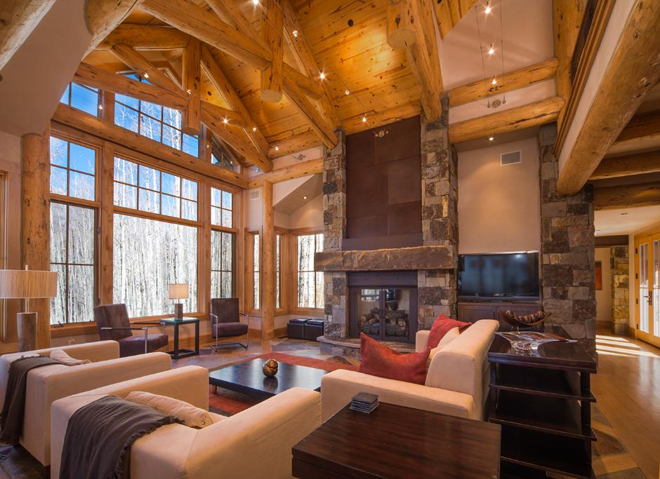 Awesome Great Room Fireplace Pictures House Plans 84273
