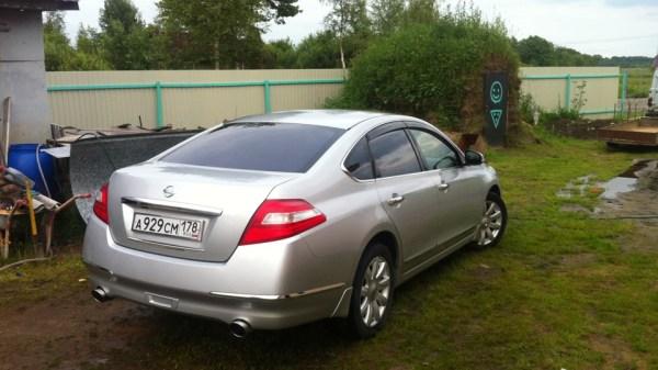 "Nissan Teana ""Серебристый ЛАЙНЕР"" | DRIVE2"