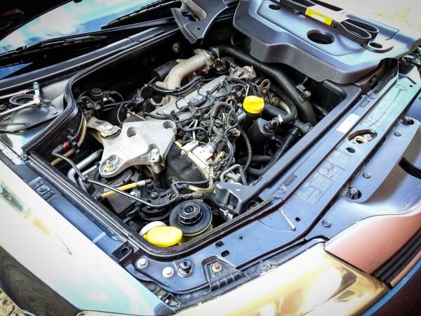 Поликлиновой ремень бортжурнал Renault Laguna 19 DCI