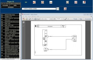 Schematic diagram (VISU) Renault Wiring Diagrams for