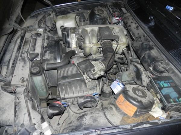 Извлечение m40b18 — бортжурнал BMW 3 series m52tub28 1987 ...