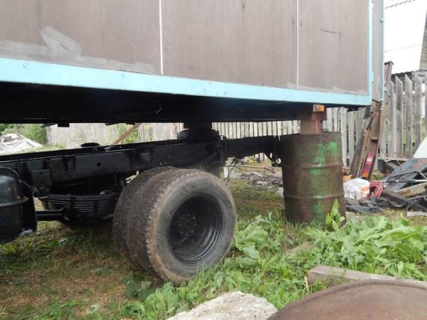 Точка в деле восстановления грузовика часть вторая