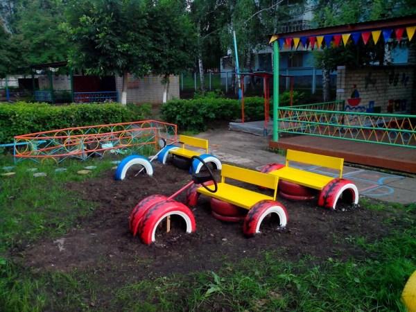 Машинка Своими Руками На Детскую Площадку Фото