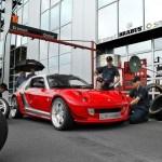 Sudba Neveroyatnogo Smart Roadster Coupe Brabus V6 Biturbo Drive2