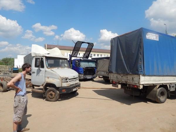 покупка донорских запчастей бортжурнал Зил 5301 бычок