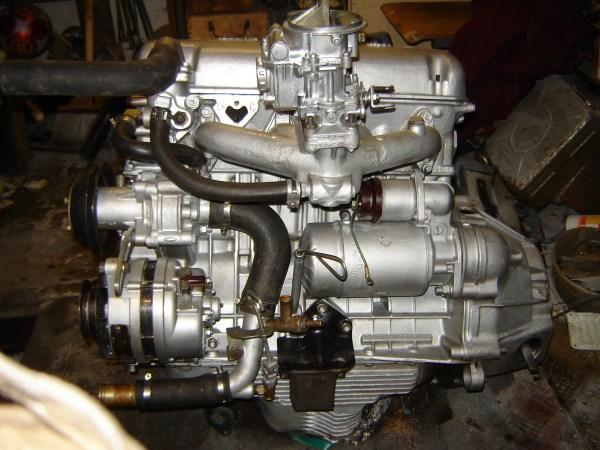 Фото Москвич 412 Двигатель