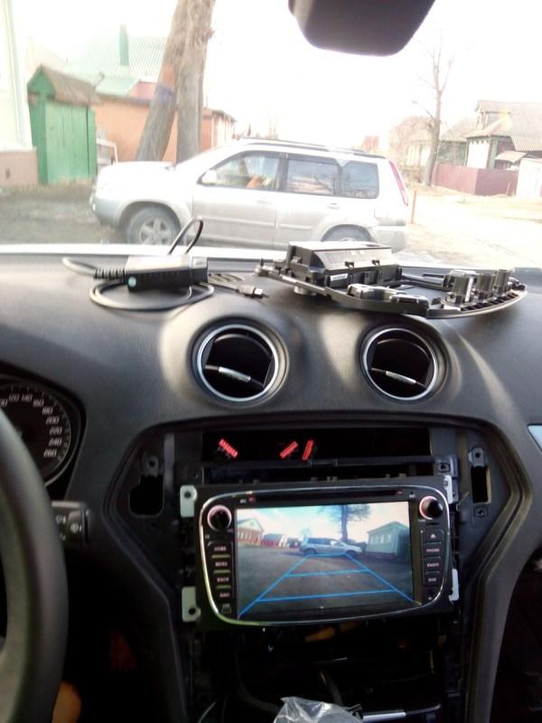 Камера заднего и переднего вида + ELMConfig ...