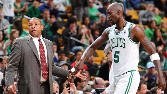 Doc Rivers and Kevin Garnett are the centerpieces in trade talks between the Celtics and the Clippers.