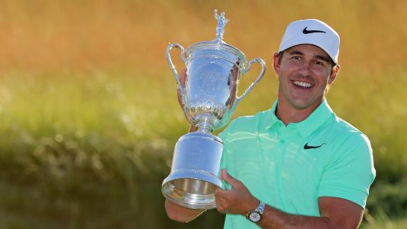 Brooks Koepka Takes Maiden Major At Us Open Watch