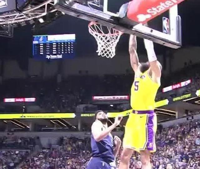 Chandler Throws Down Dunk From Stephenson Lob Watch