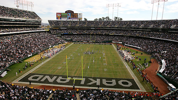 Image result for oakland coliseum raiders