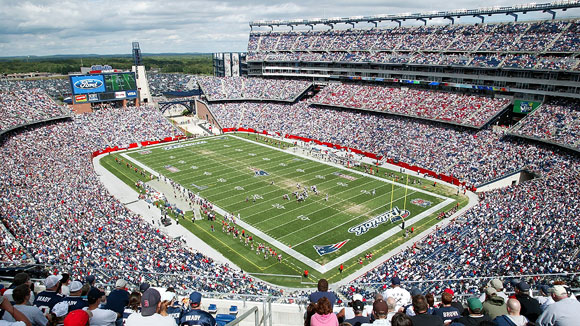 Image result for patriots gillette stadium
