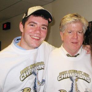 Brendan & dad Brian Burke