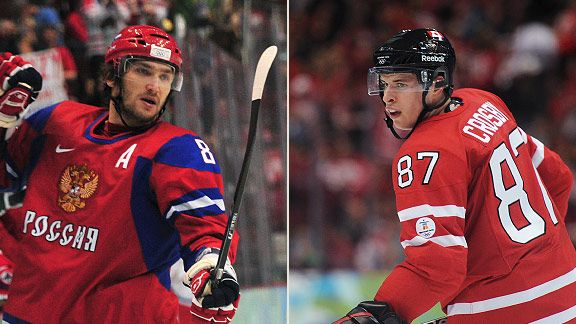 Alex Ovechkin & Sidney Crosby