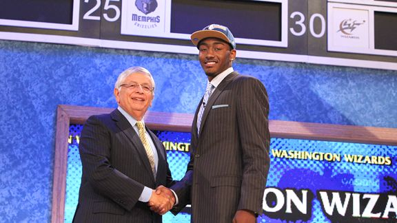 Image result for john wall demarcus cousins draft day