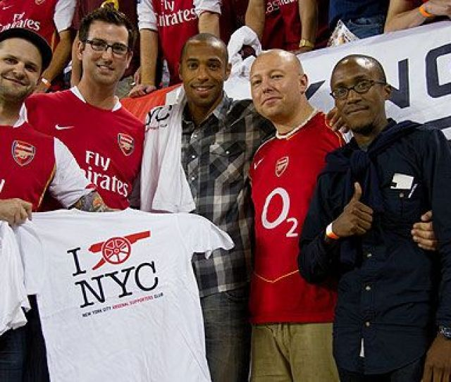 Espn Com Thierry Henry Meets With Arsenal Faithful In New York