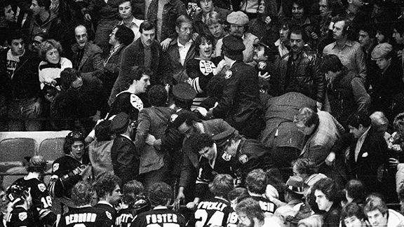 ESPN.com - Other infamous NHL player/fan altercations