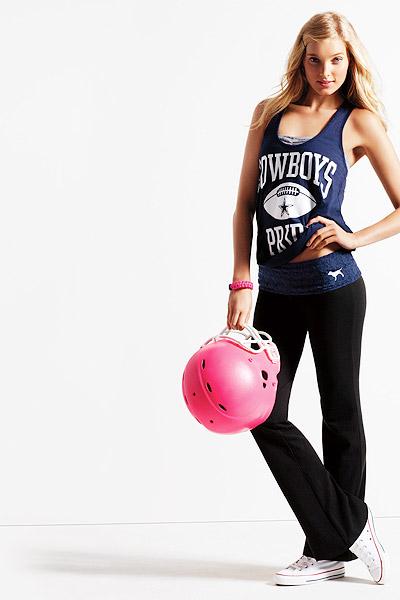 Victoria's Secret Pink model played pro ball