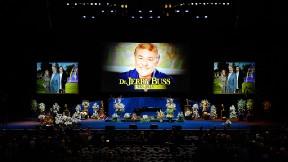 385a84c3b854 Jerry Buss memorial service