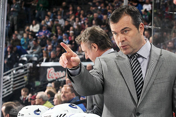 Alain Vigneault will be the new head coach of the New York Rangers.