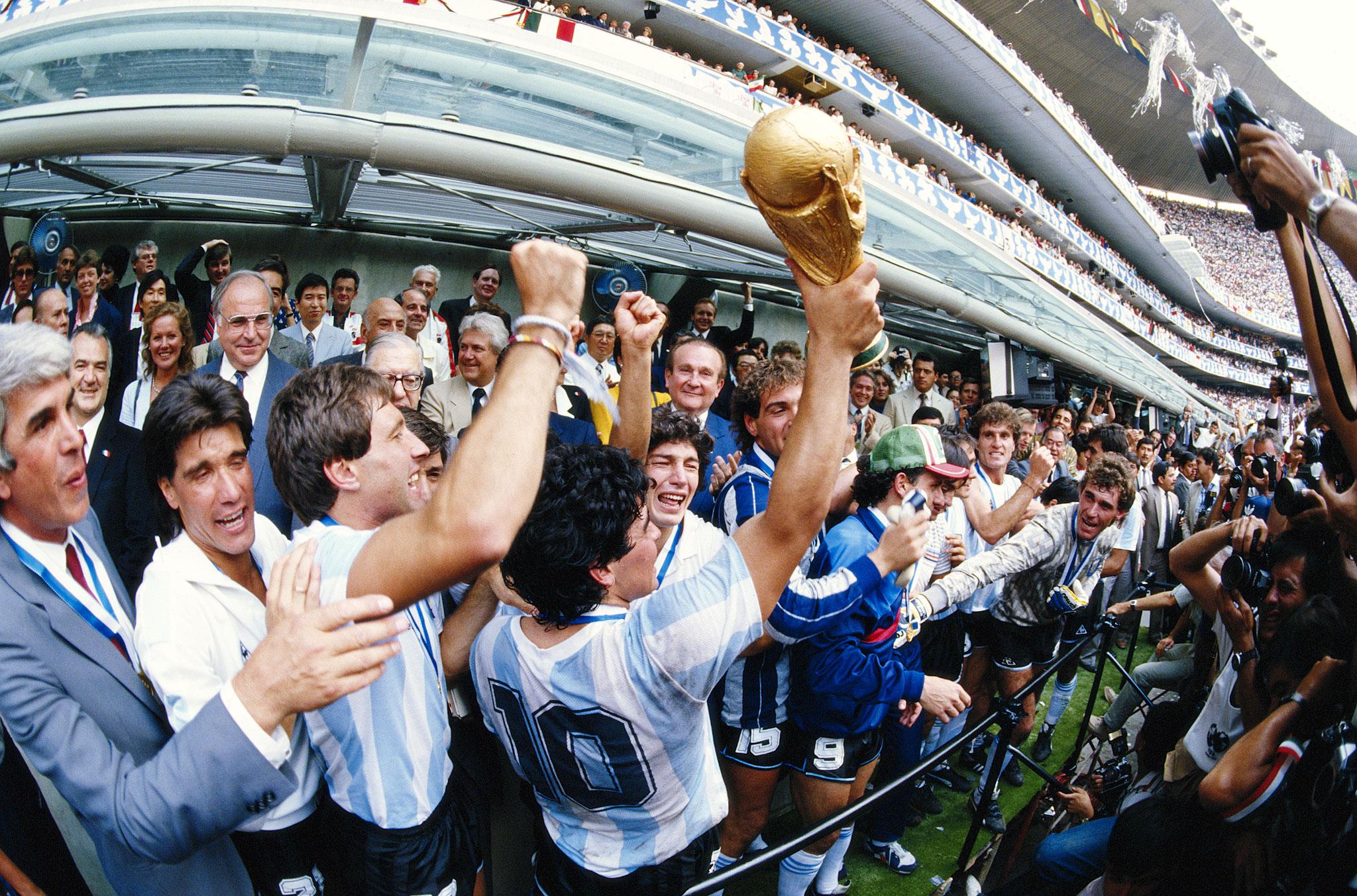 argentina campeon 1986